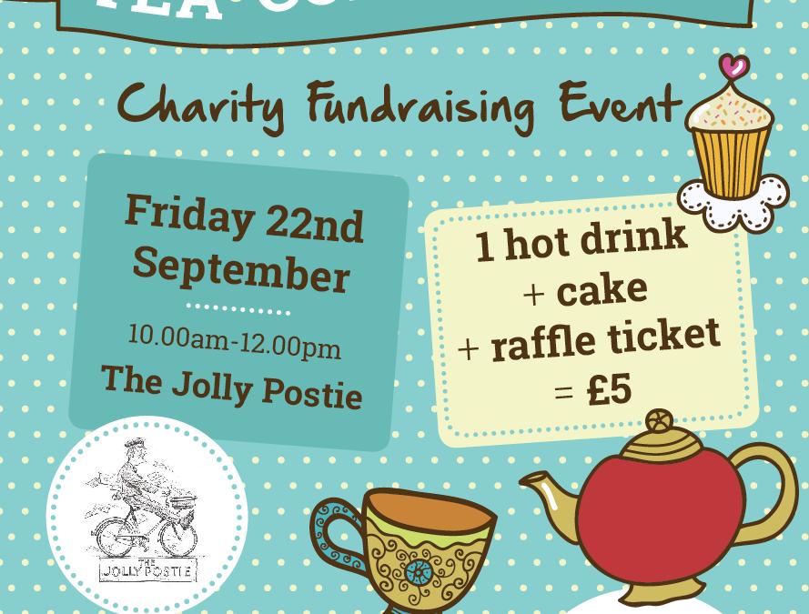Tea.Coffee.Cake Fundraising Event @ The Jolly Postie